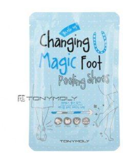 Changing U Magif Foot Peeling Shoes Tony Moly