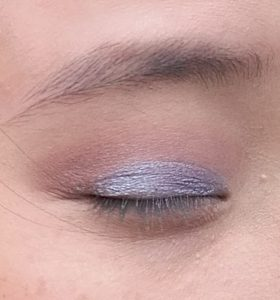 Step 2, 3 and 4: apply transition colors and then eye shadow base