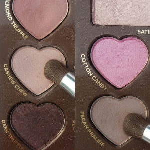"""Too Faced Chocolate Bon Bons in """"Cashew Chew"""" and """"Pecan Praline"""""""