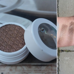 Super Shock Shadow: Nillionaire, Left swatch: Brush, Right swatch: Finger
