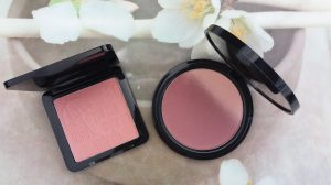 "Comparison NYX ombre blush and Essence ""me & my umbrella"" blush"